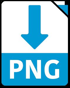 Laden Sie das Beispielangebot mit Unterschrift als PNG-Datei herunter